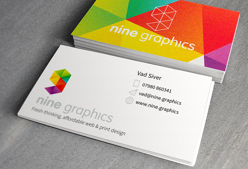 Business Card Design. Make the right first impression