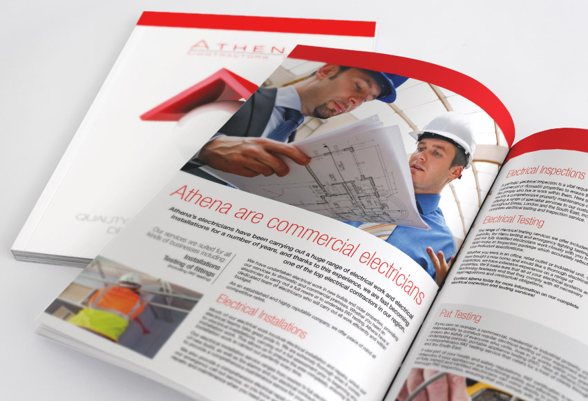 Corporate Brochures Design. Look professional from the outset