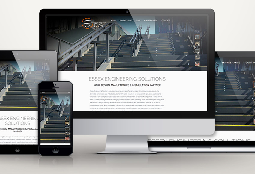 Responsive websites. Designed to work on any device